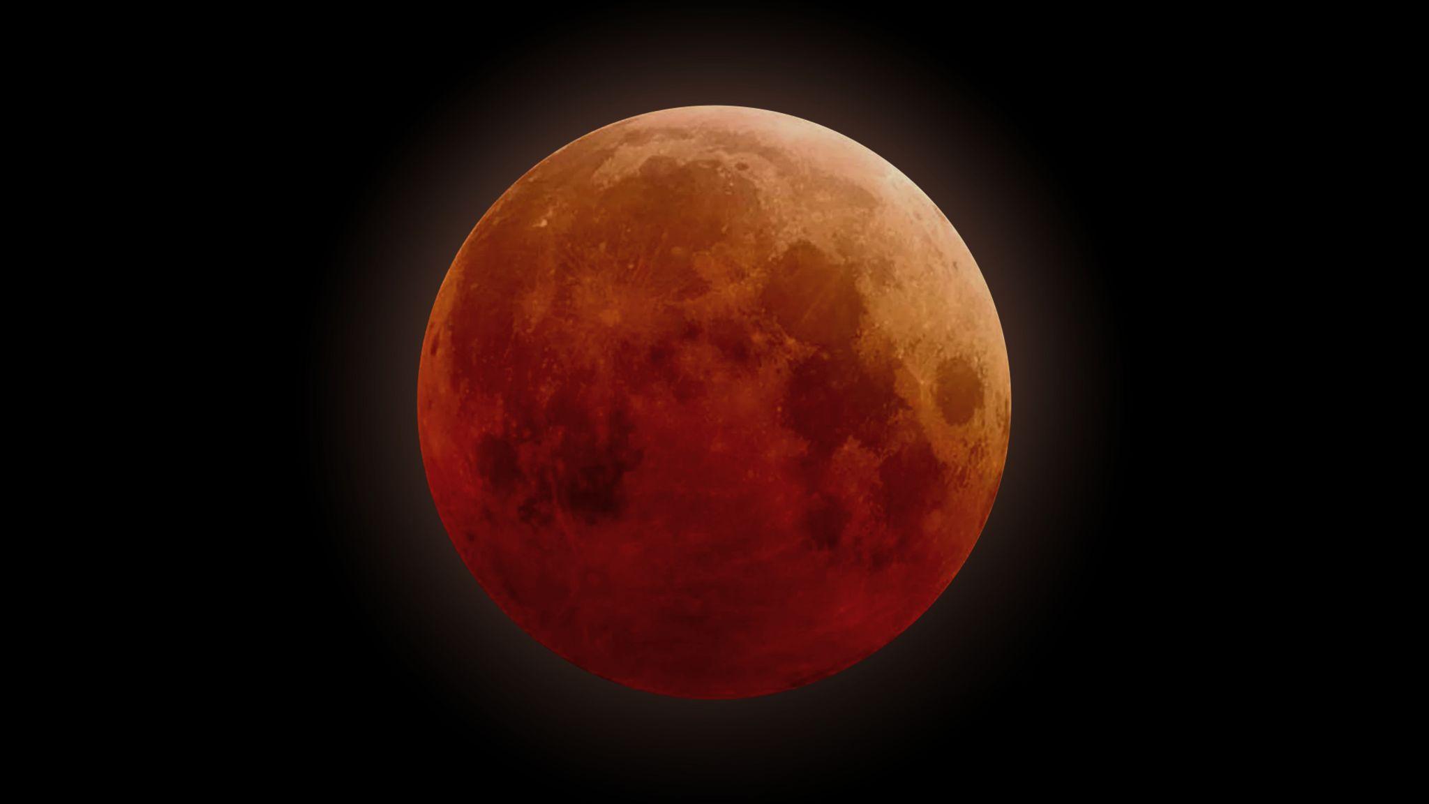 Eclipse Lunar Total 2019