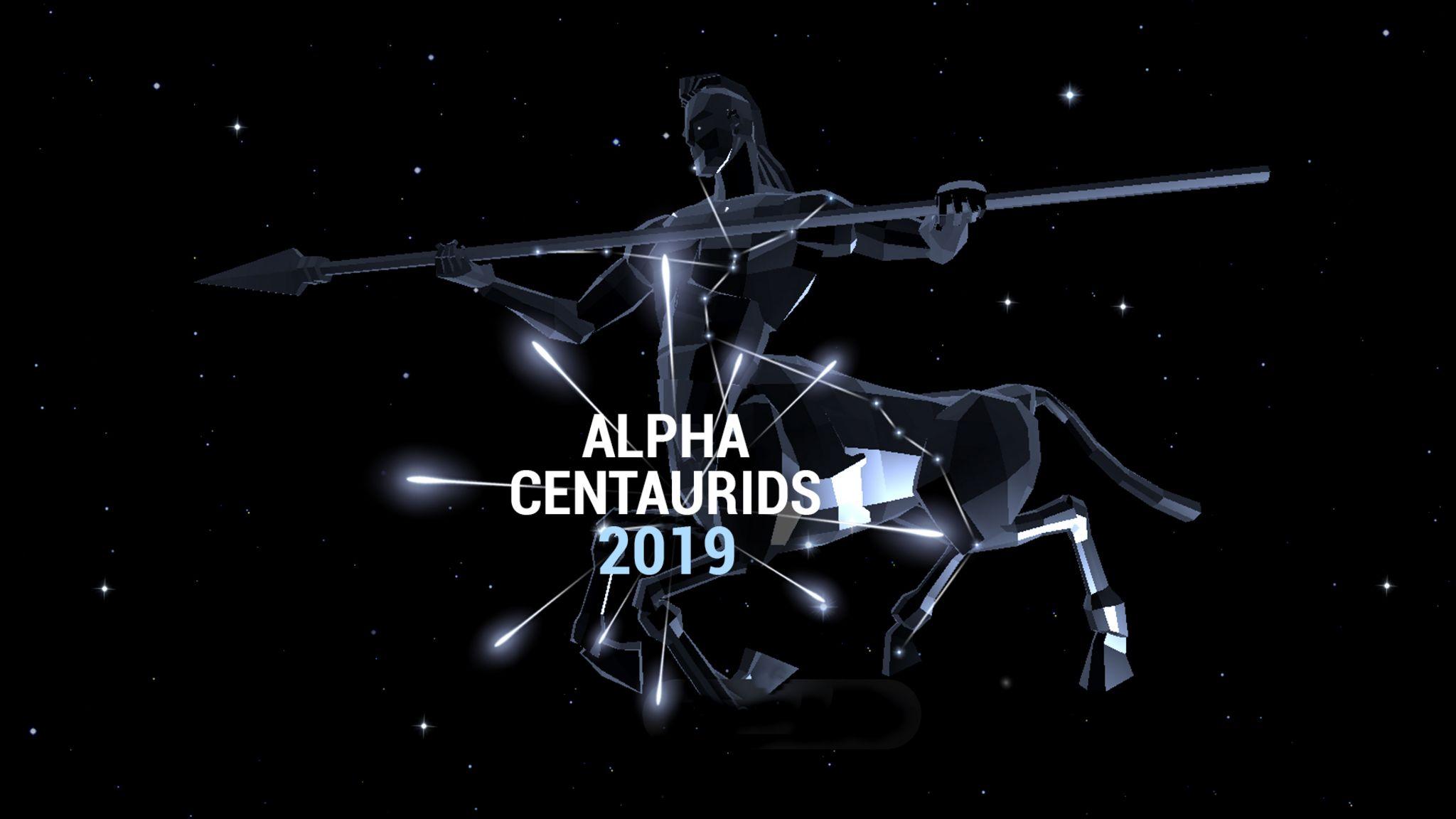 Pluie de météores Alpha Centaurides