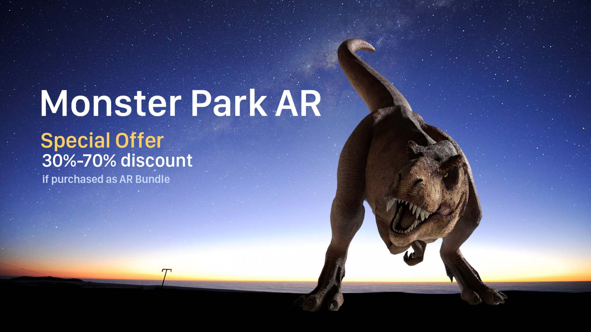 Monster Park AR - Special Offer