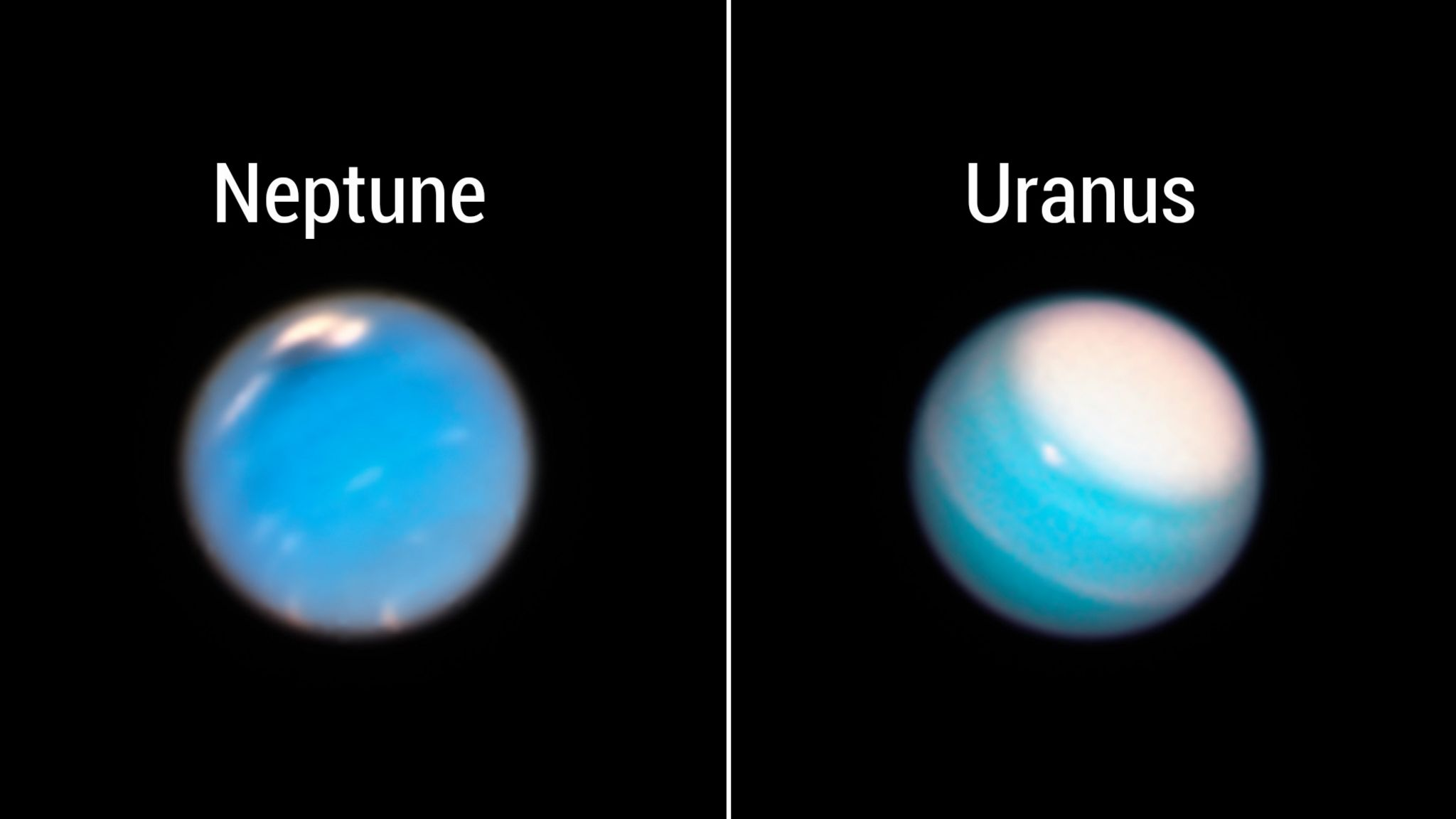 Weersveranderingen op Uranus en Neptune