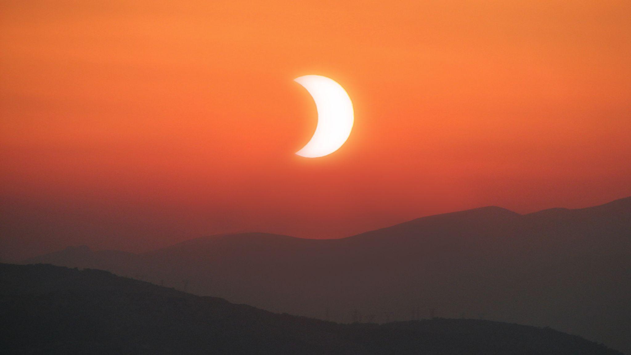 Gedeeltelijke zonsverduistering