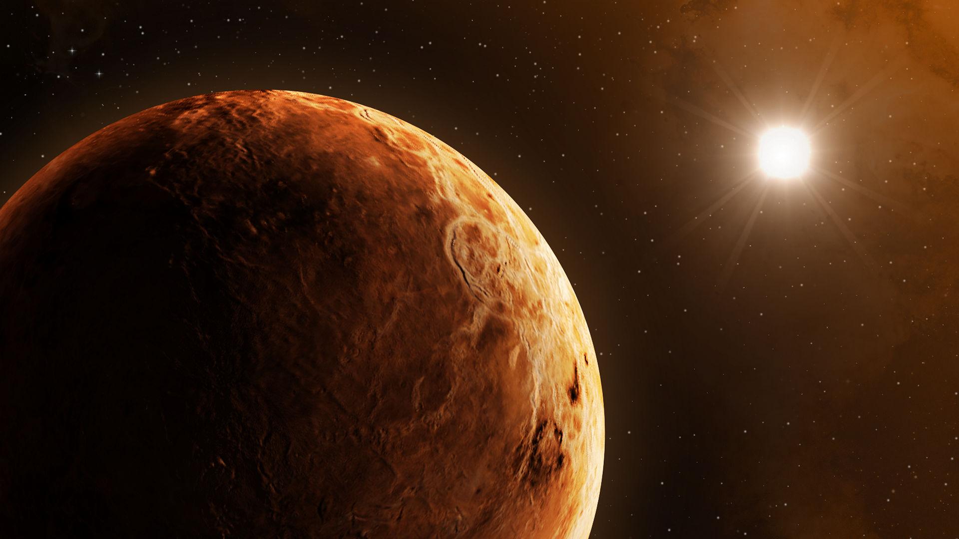 素晴らしい金星を発見