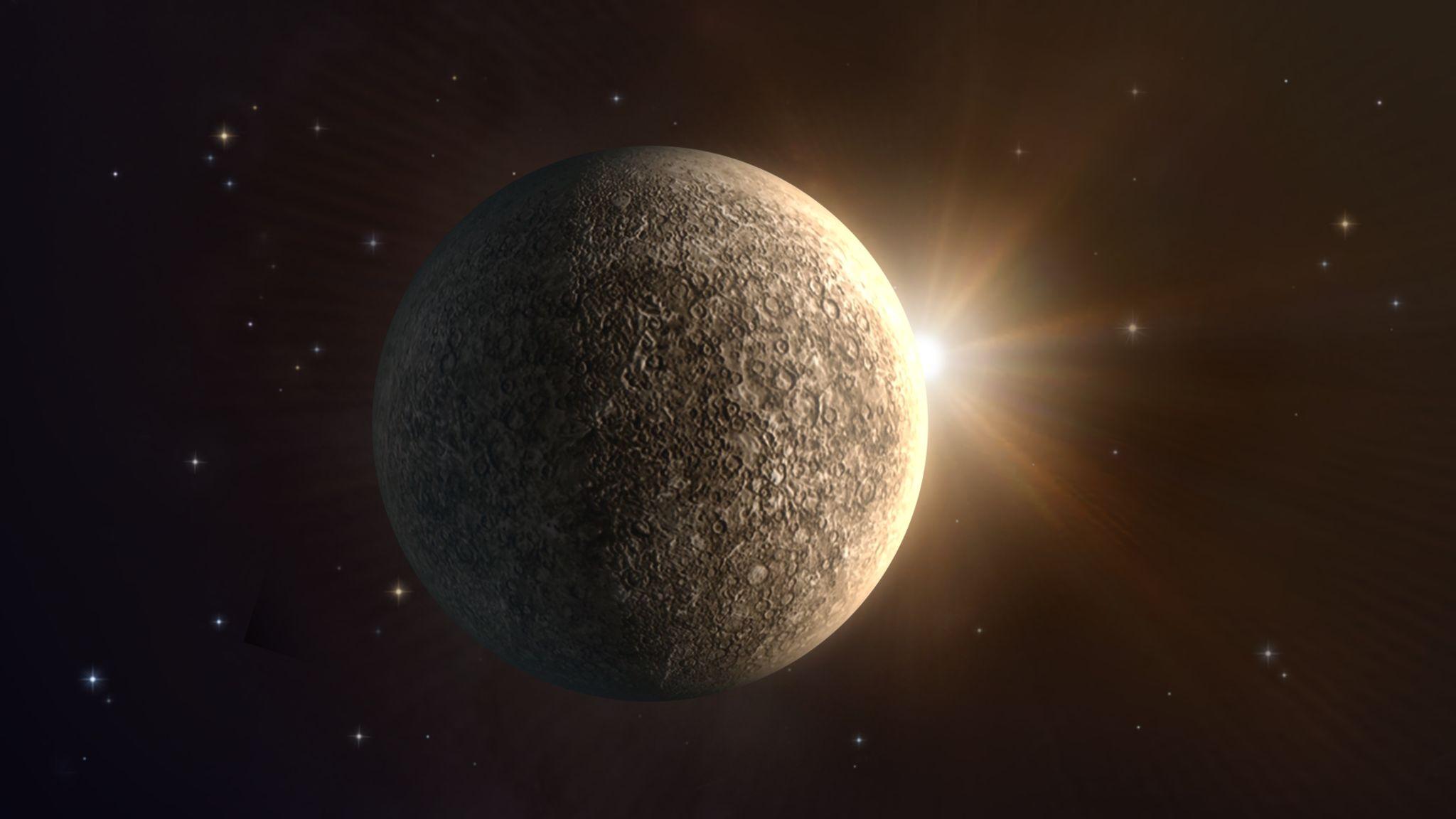 Mercurio alla sua più intensa elongazione occidentale