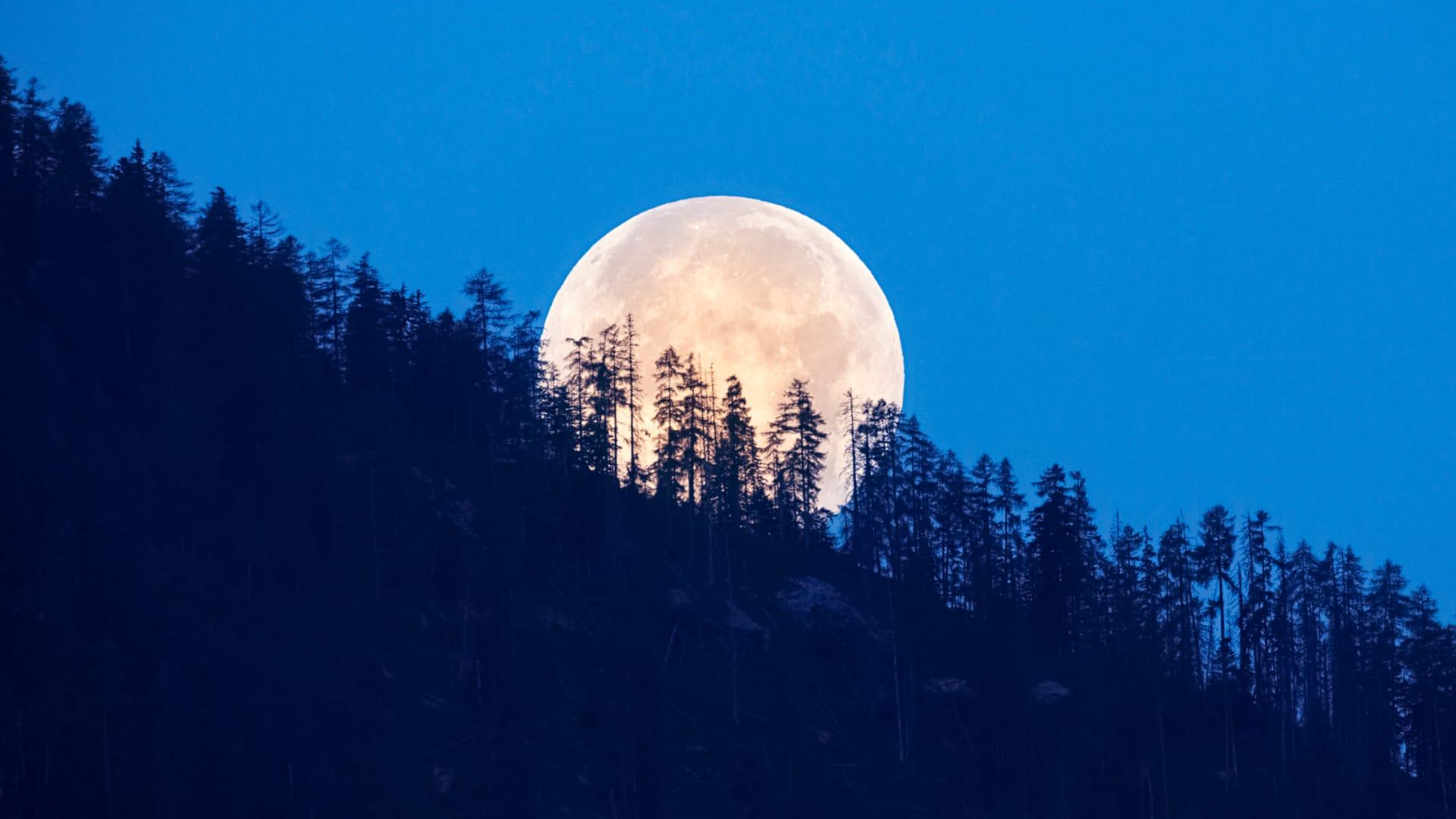 Full Sturgeon Moon in August 2021
