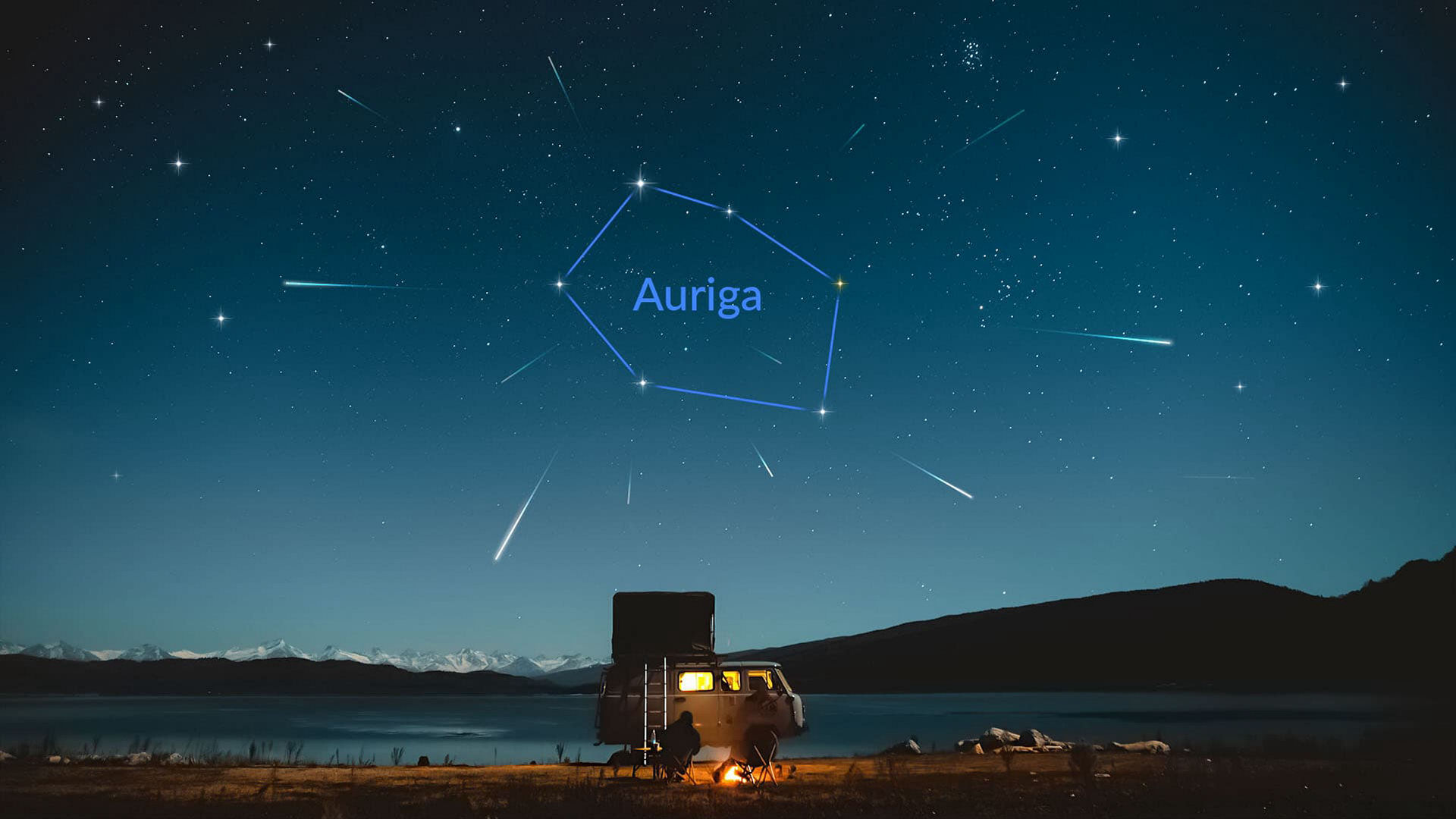 A chuva de meteoros Alfa-Aurigídeas