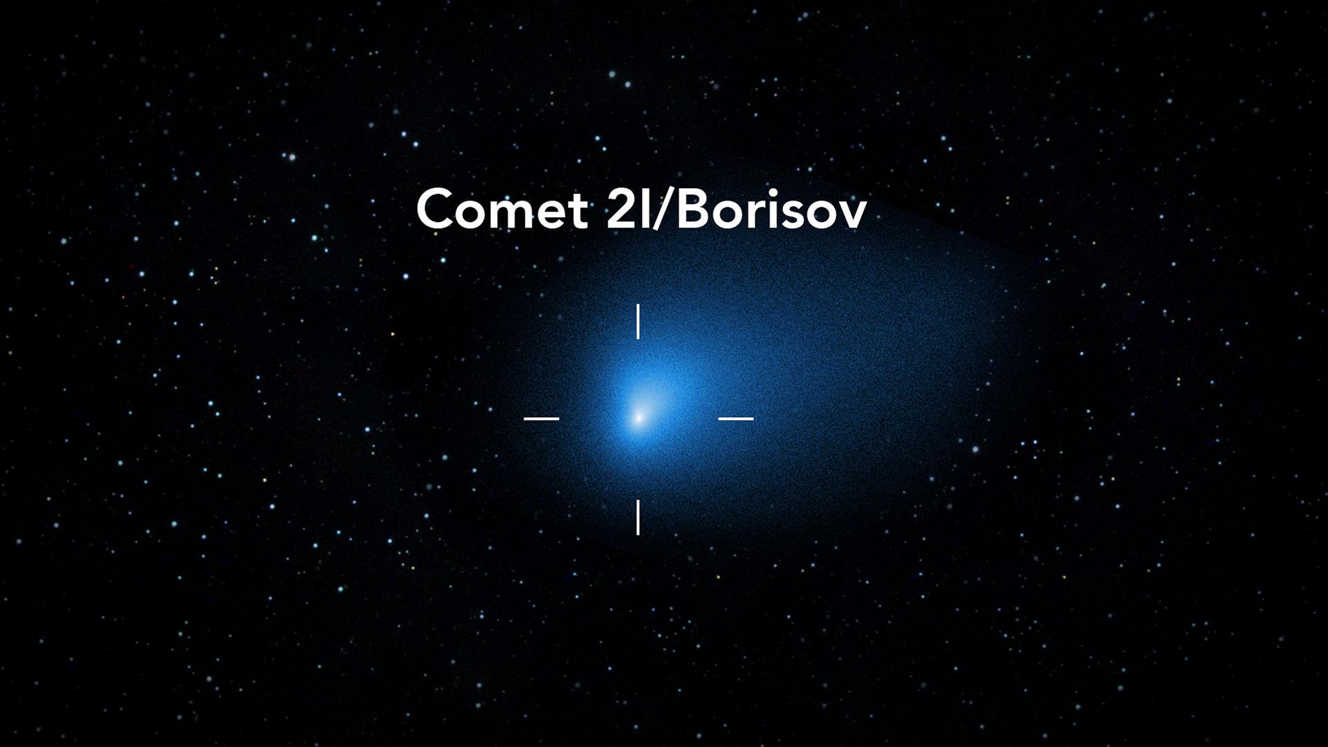 Avvistata nel cielo la cometa 2l/Borisov