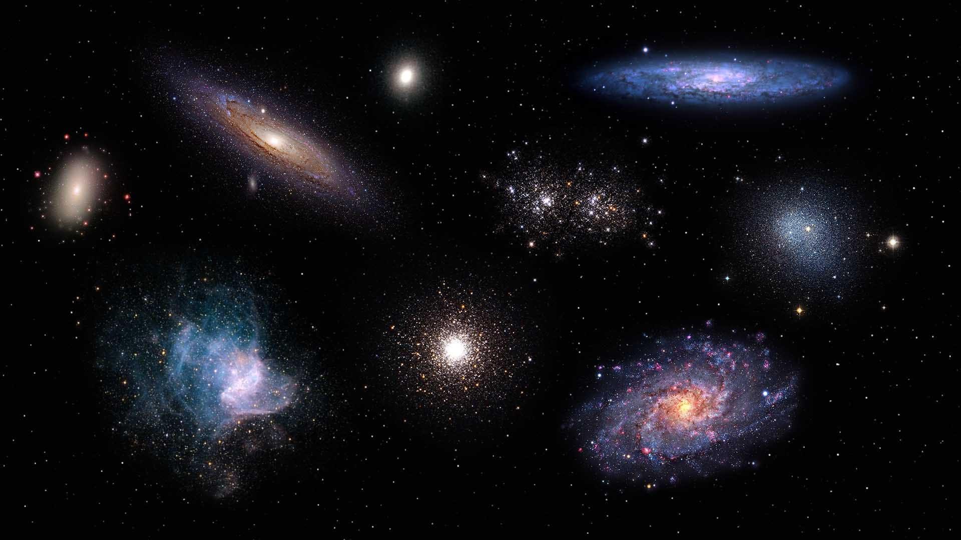 Объекты глубокого космоса в октябре 2021 года
