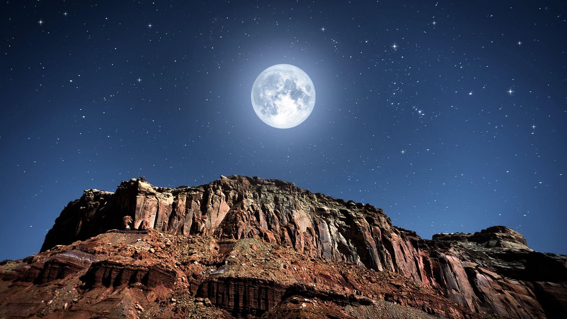 11月のビーバームーンの月食が空を飾る