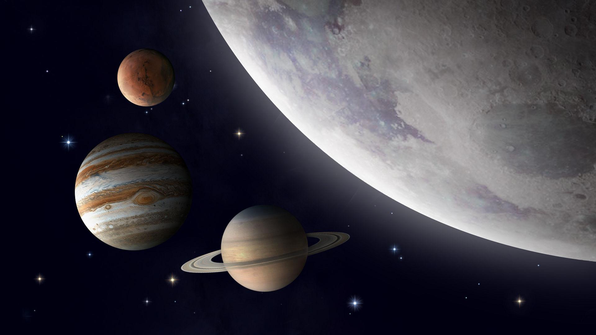 La Lune rencontre trois planètes cette semaine. Quand, où et comment observer ce phénomène