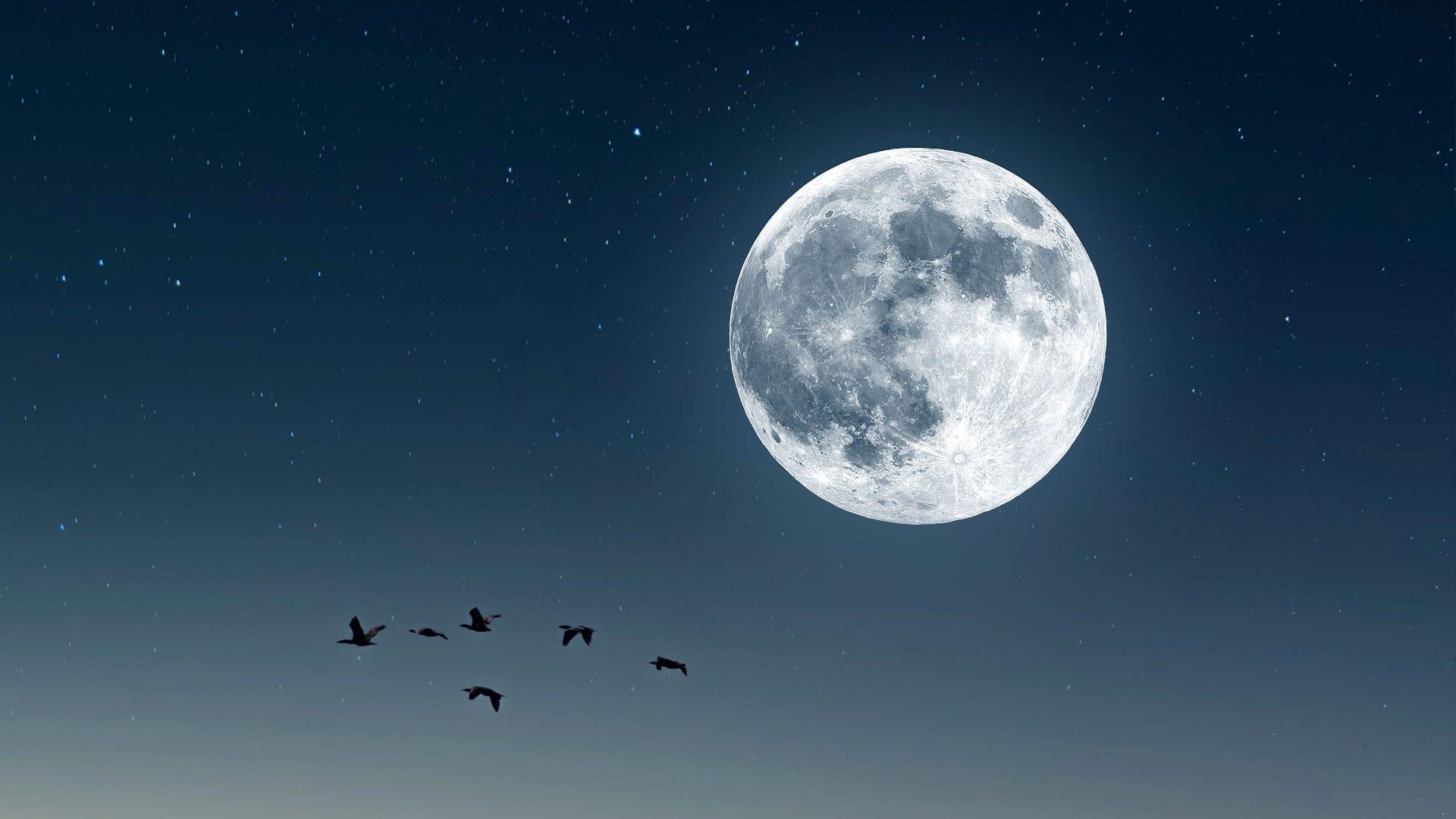 Full Moon in October 2021