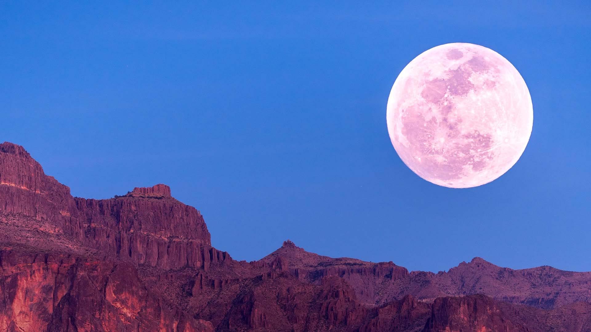 2021年6月的满月:草莓月