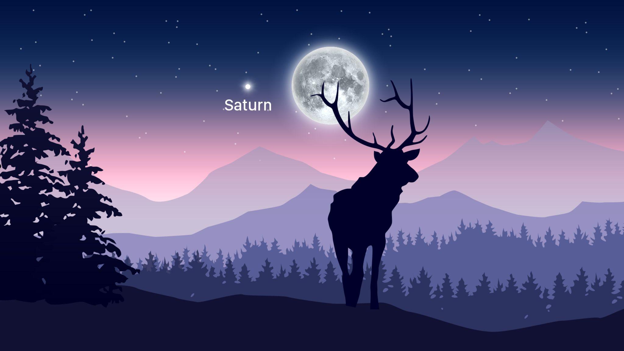 La luna llena de Buck