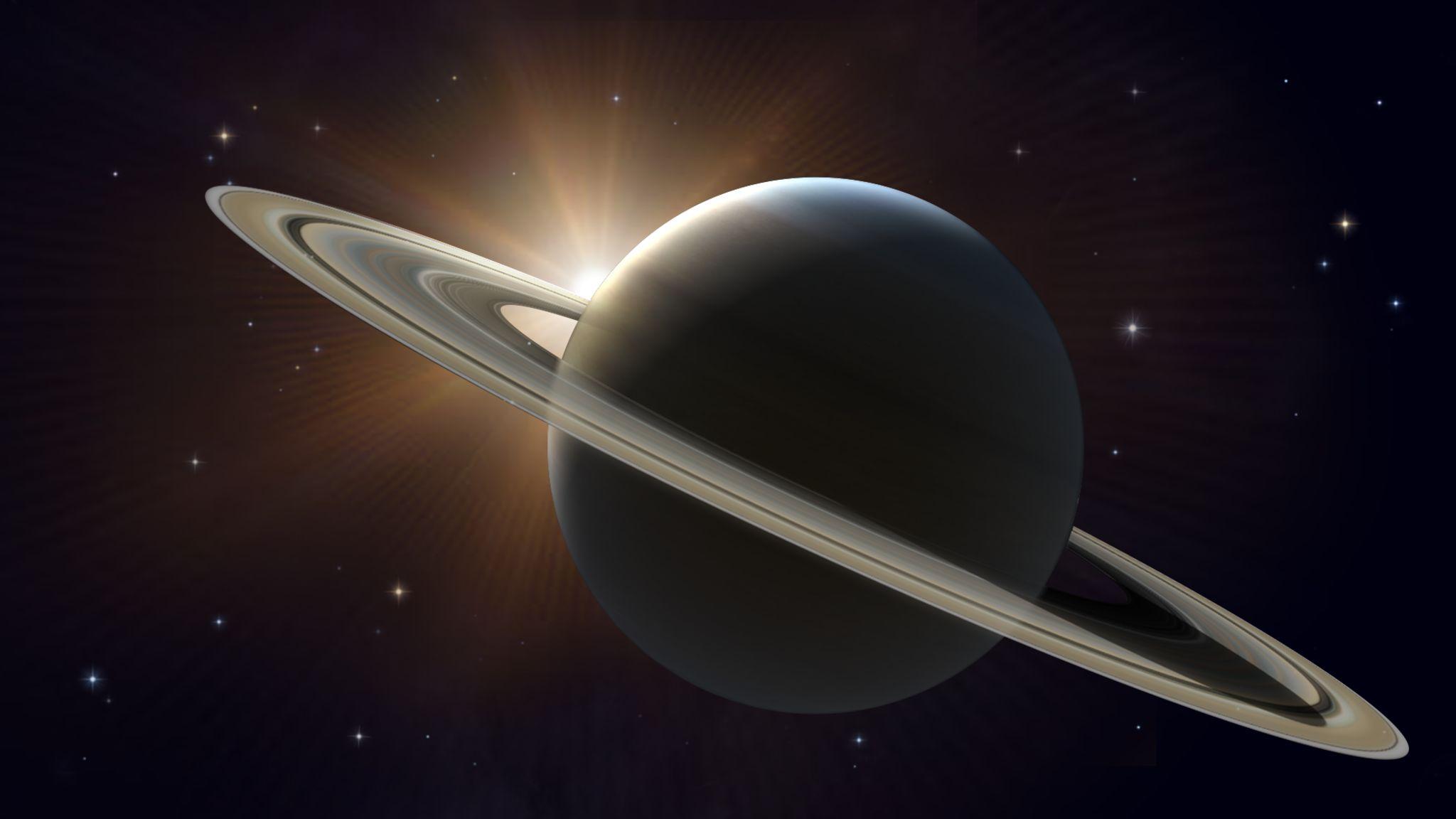 Saturno na oposição