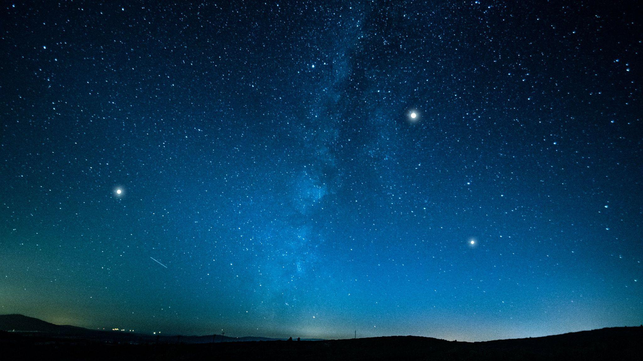 本週最明亮的行星們
