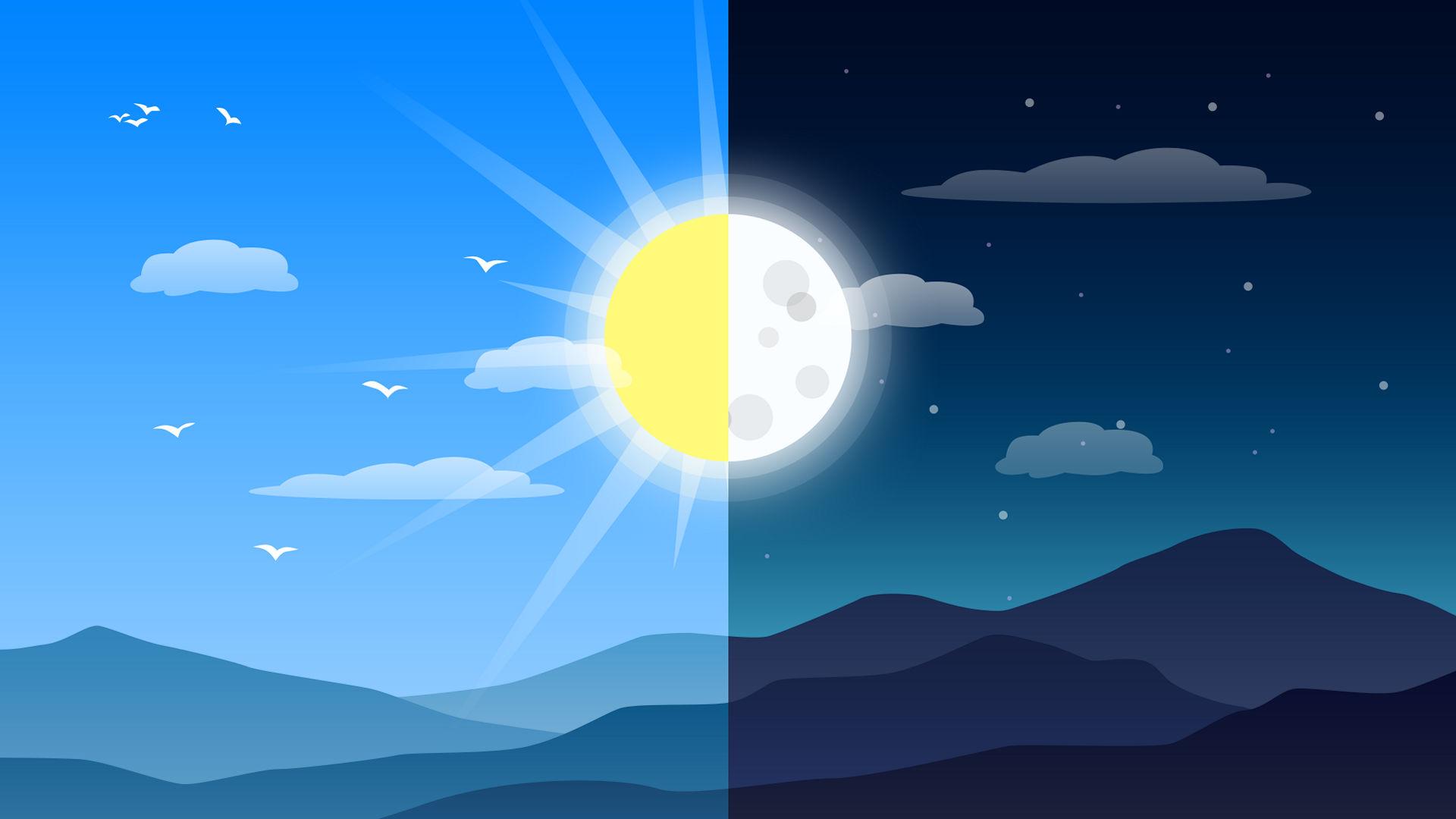 3 월 말 2020 년 : 북부 봄, 남부 가을