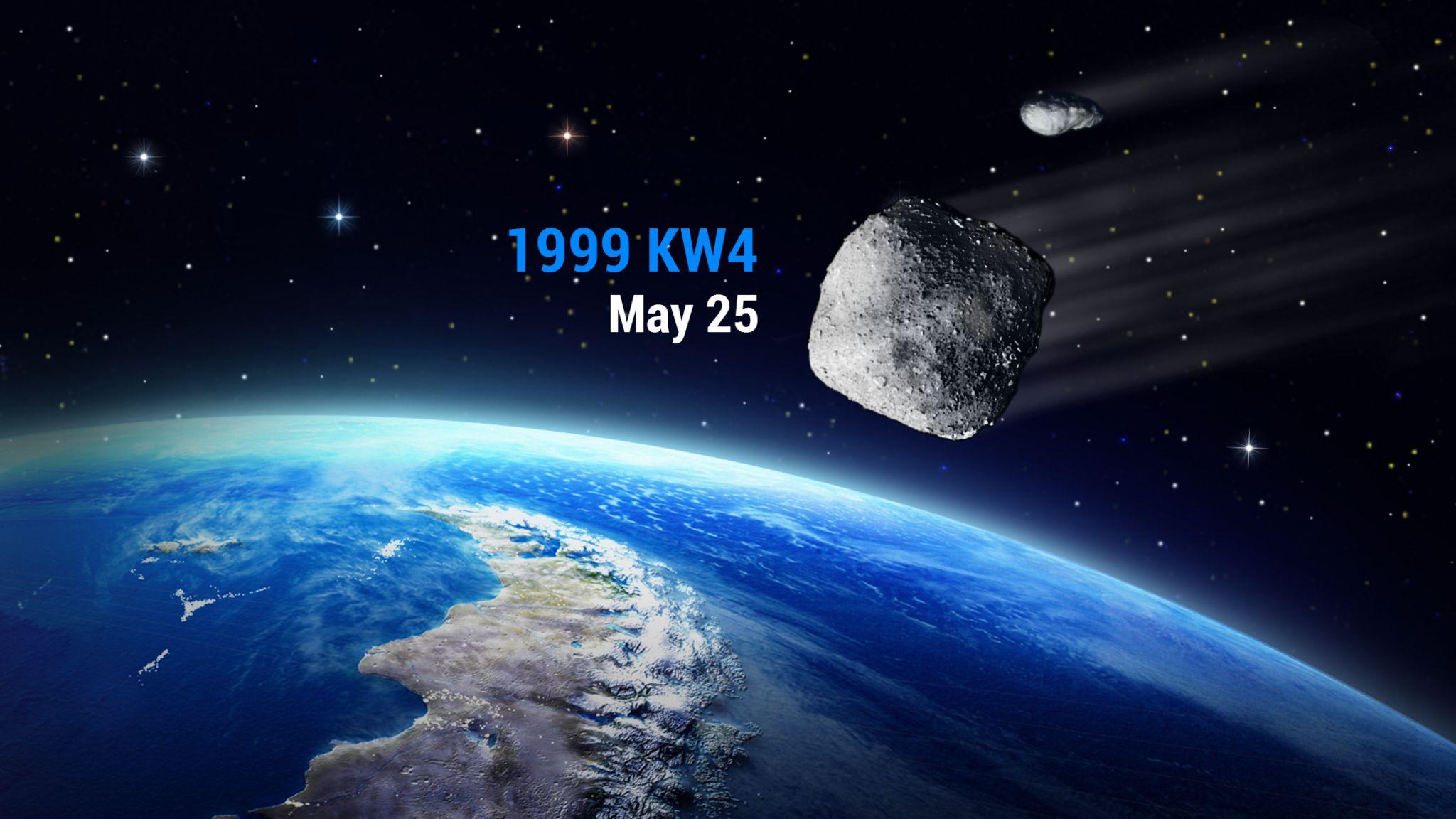 一颗巨大的双小行星将与地球接近