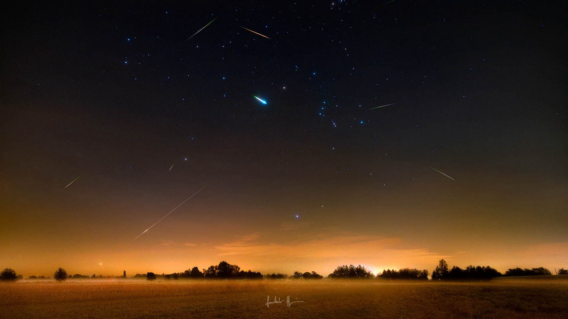 Meet the November Orionid Meteor Shower