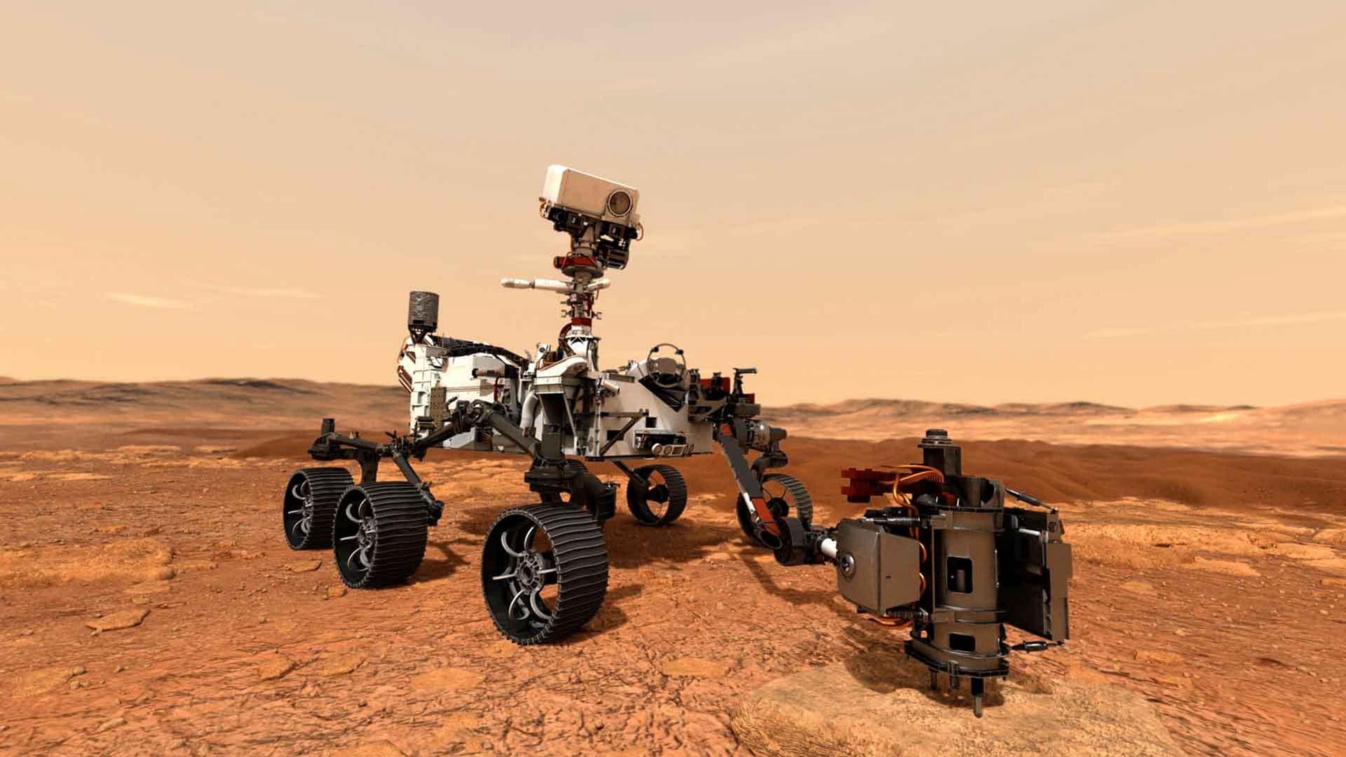 ローバー「パーサヴィアランス」が火星に向かっています