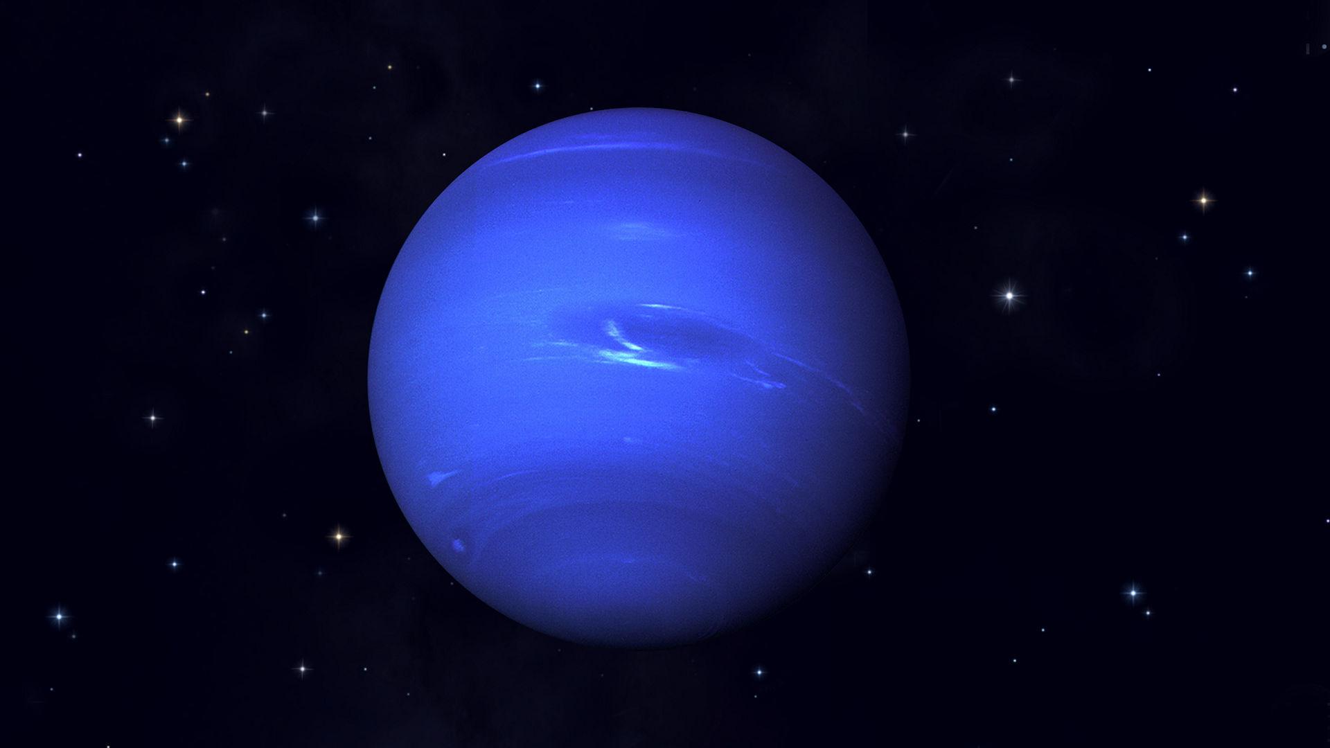 Neptunus bij oppositie