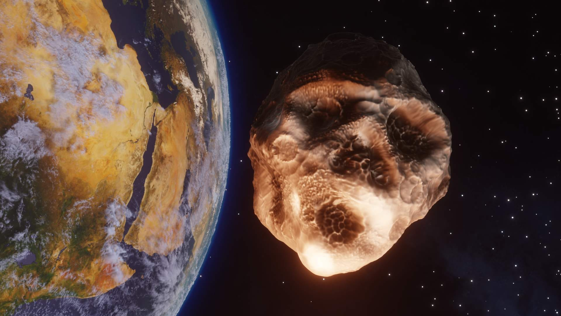Asteroid 2015 TB145 passing near Earth