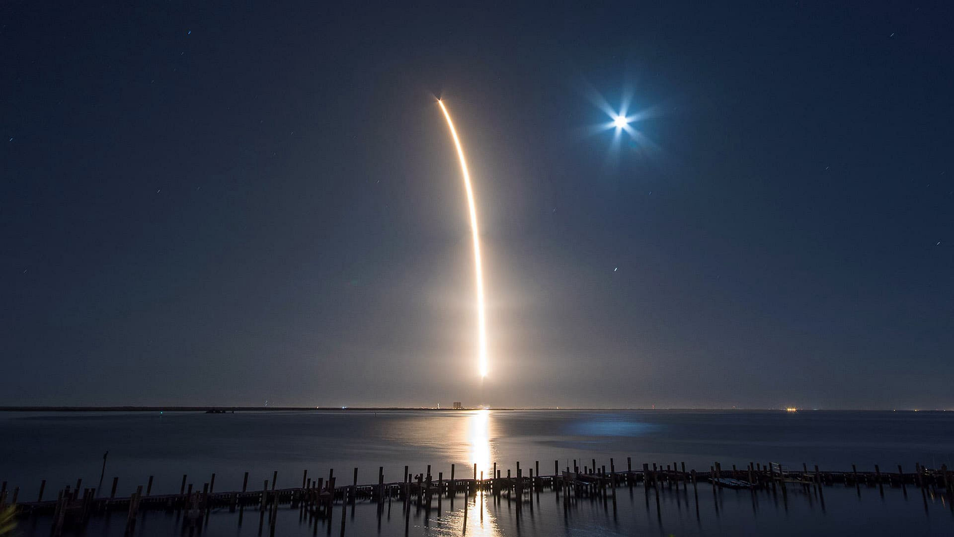 SpaceX Launches Its First Operational Mission