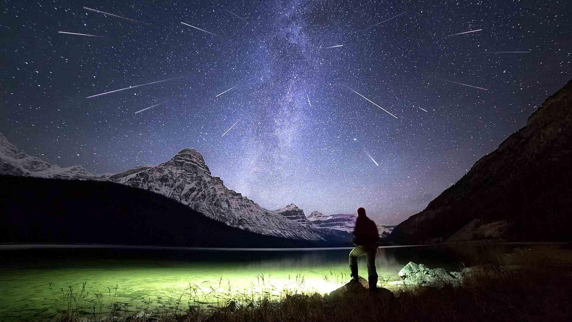11月初在天空中可以看到什么?