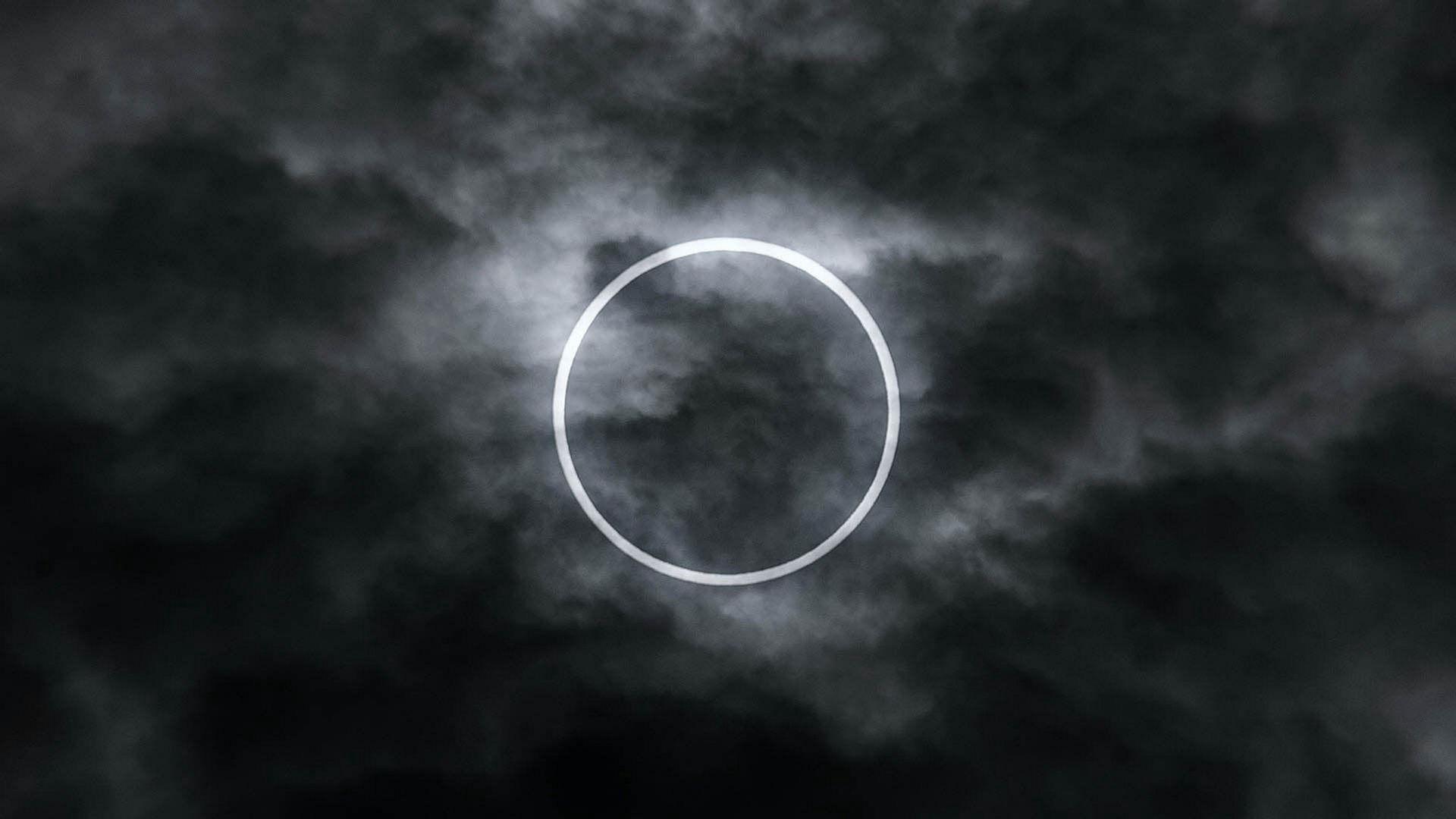 L'anneau de feu solaire apparaitra bientôt !