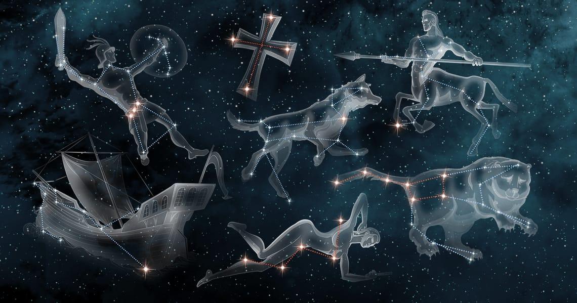 Beroemde sterrenbeelden die iedereen kan vinden